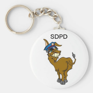 Sea Donkey PD Key Chain