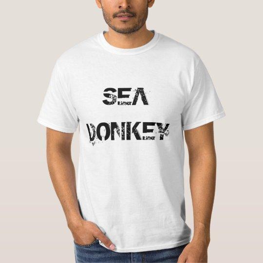 """Sea Donkey"" t-shirt"