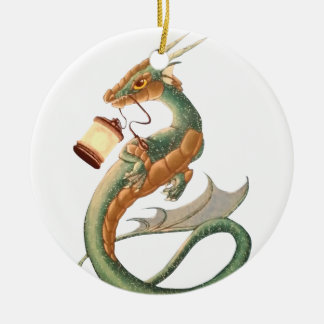 Sea Dragon Christmas Ornament