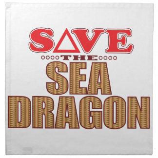 Sea Dragon Save Napkin