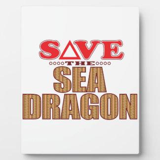 Sea Dragon Save Plaque