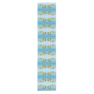 Sea Dragon Short Table Runner