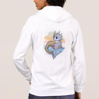 Sea Dragon Sunset Women's Zip Up Hoodie Sweatshirt