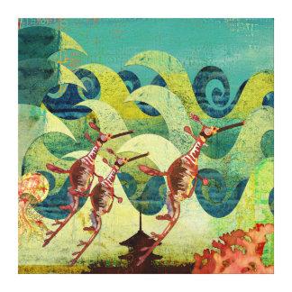 Sea Dragons Ocean Avenue Canvas Gallery Wrap Canvas