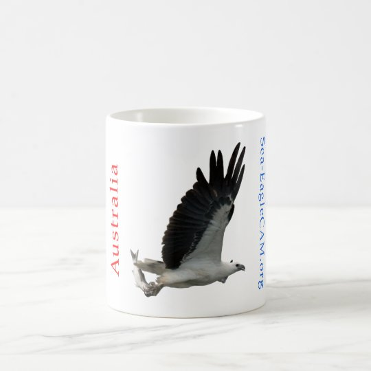 Sea-Eagle with Fish Mug