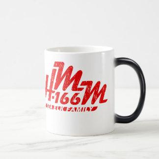 Sea Elk Family Retrogram 11 Oz Magic Heat Color-Changing Coffee Mug