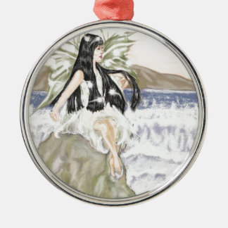 sea fairy christmas ornament