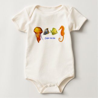 Sea Fish Baby Clothes Baby Bodysuit