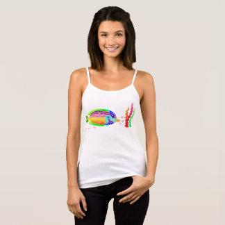 Sea Fish Bella+Canvas Spaghetti Strap Tank T