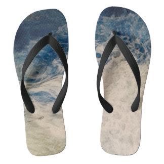 Sea Foam Flip Flops