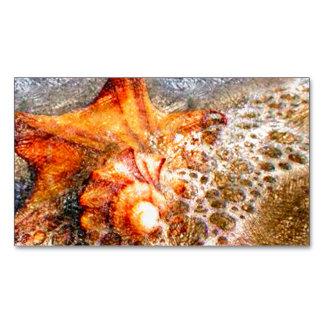 Sea Foam Magnetic Business Cards