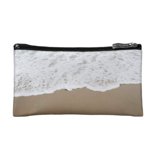 Sea foam, Ocean Waves Cosmetic Bags