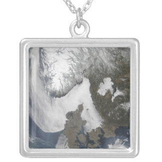 Sea Fog in Scandinavia Silver Plated Necklace