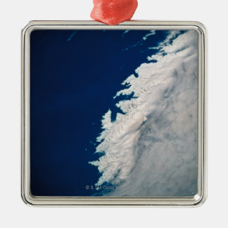 Sea from a Satellite Christmas Ornament