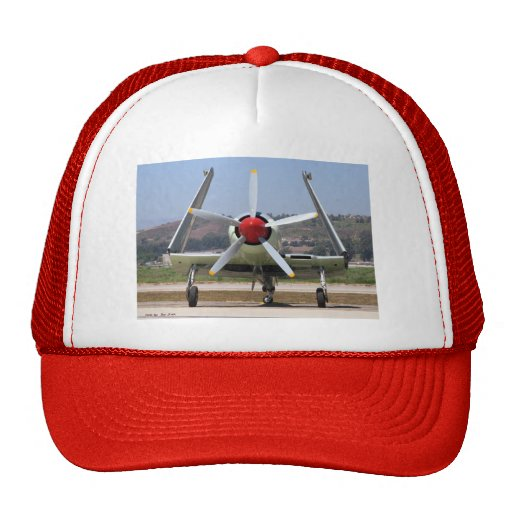 Sea Fury Wings Folded Mesh Hats