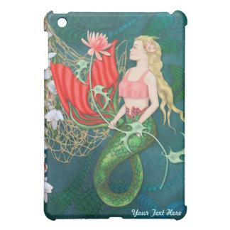 Sea Garden Fantasy Mermaid iPad Mini Cover