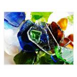 Sea Glass Ambience Postcard