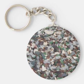 Sea Glass at Glass Beach - Bermuda Key Ring