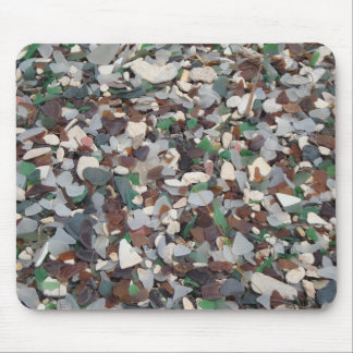 Sea Glass at Glass Beach - Bermuda Mouse Mat