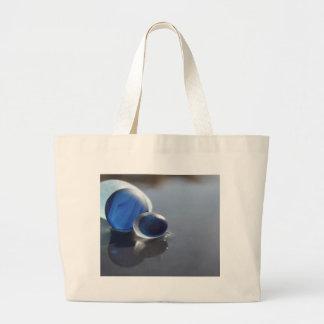 Sea Glass Blues Tote Bag