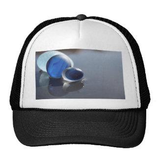 Sea Glass Blues Mesh Hat