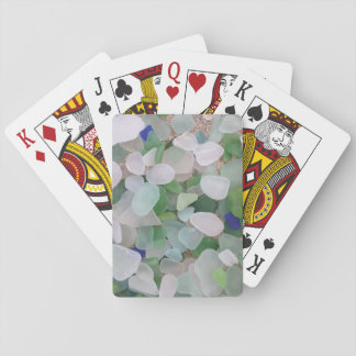 Sea glass bridge games playing cards