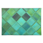 Sea Glass Custom Art Woven Cotton Placemats
