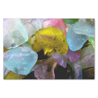 Sea Glass from the Bering Sea Tissue Paper