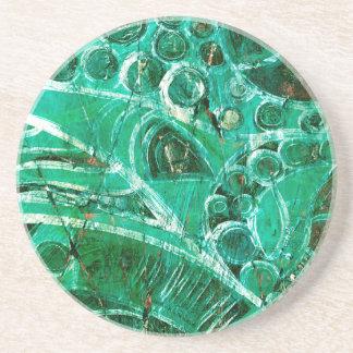 Sea Glass I Beverage Coaster