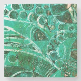 Sea Glass I Stone Coaster