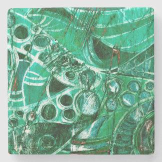 Sea Glass II Stone Coaster