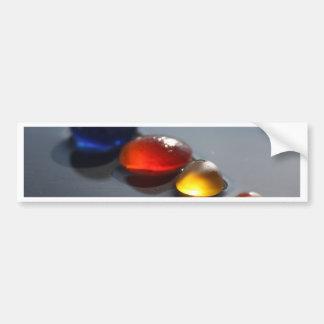 Sea Glass Jelly Tots Bumper Stickers