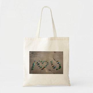 Sea Glass Marble Galore Budget Tote Bag