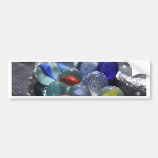Sea Glass Marbles Bumper Stickers