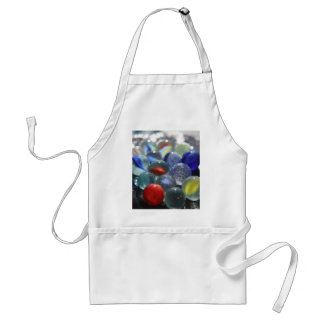 Sea Glass Marbles Standard Apron