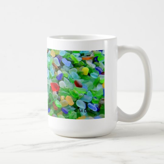 Sea Glass Mural Coffee Mug