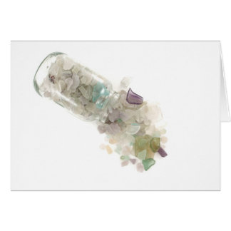 Sea Glass Note Card