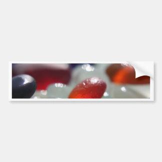 Sea Glass Orange Bumper Sticker