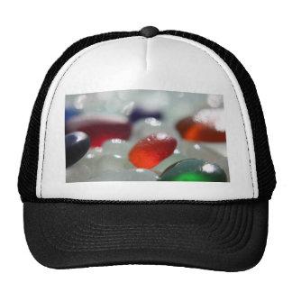 Sea Glass Orange Mesh Hat