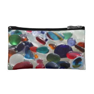 Sea Glass Purse Makeup Bags