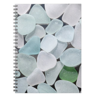 Sea Glass Spiral Notebook