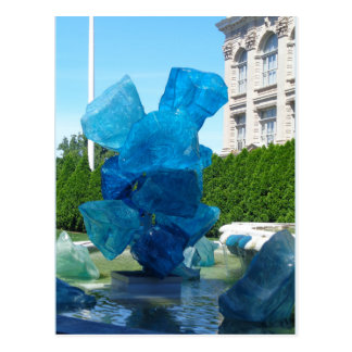 Sea Glass Statue Postcard