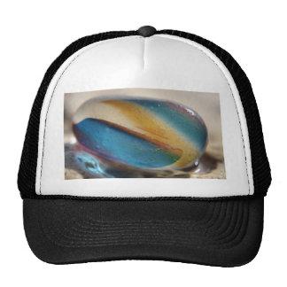 Sea Glass Stripes Mesh Hat