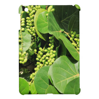 Sea Grape Leaves and Berries Cover For The iPad Mini