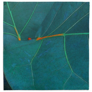 Sea Grape Leaves Napkin