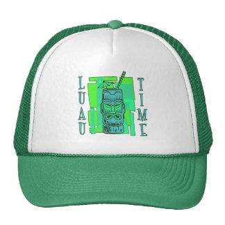 Sea Green & Blue Luau Trucker Hats