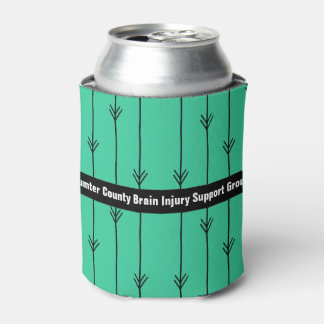 Sea Green Custom Brain Injury Support Group Can Cooler