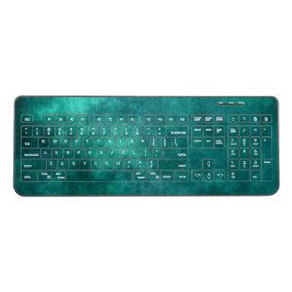 Sea Green Custom Wireless Keyboard