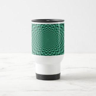 Sea Green Explosion Mug