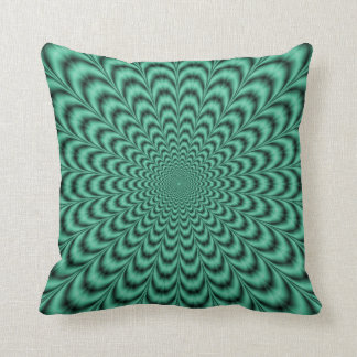 Sea Green Explosion Pillows